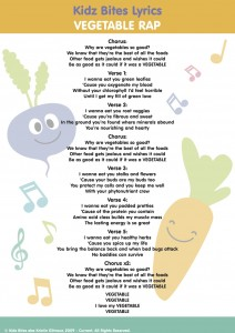 Vegetable Rap Lyrics